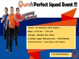 unifi Perfect Squad Event